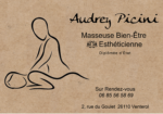 Audrey PICINI, Masseuse Bien-Etre & Esthéticienne
